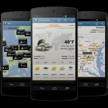 Android Weather Clock Widget Ad Free - картинка 1